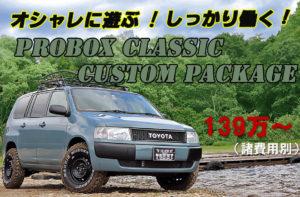 プロボックスLU55クラシックパッケージ