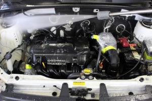 プロボックスエンジンデグレザー高圧洗浄05-01