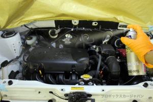 プロボックスエンジンデグレザークリアコート07-01