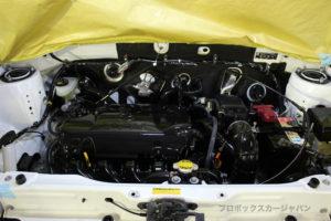 プロボックスエンジンデグレザークリアコート07-02