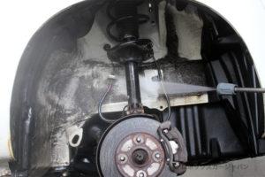 プロボックスフレームアンダーシールド高圧洗浄04-01