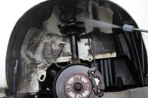 プロボックスフレームアンダーシールド高圧洗浄04-02
