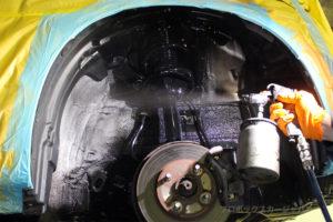 プロボックスフレームアンダーシールドシャシーブラック添付05-05