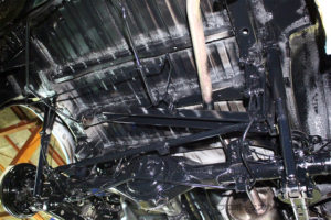 プロボックスフレームアンダーシールドシャシーブラック完成06-03