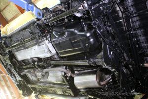 プロボックスフレームアンダーシールドシャシーブラック完成06-04