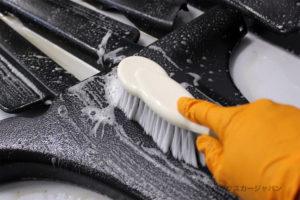 プロボックスインテリアリニュー内装樹脂パーツ洗浄03-003