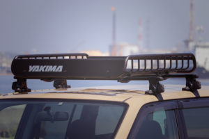 プロボックス/釣りの車。積載量アップのYAKIMAロードウォーリアー